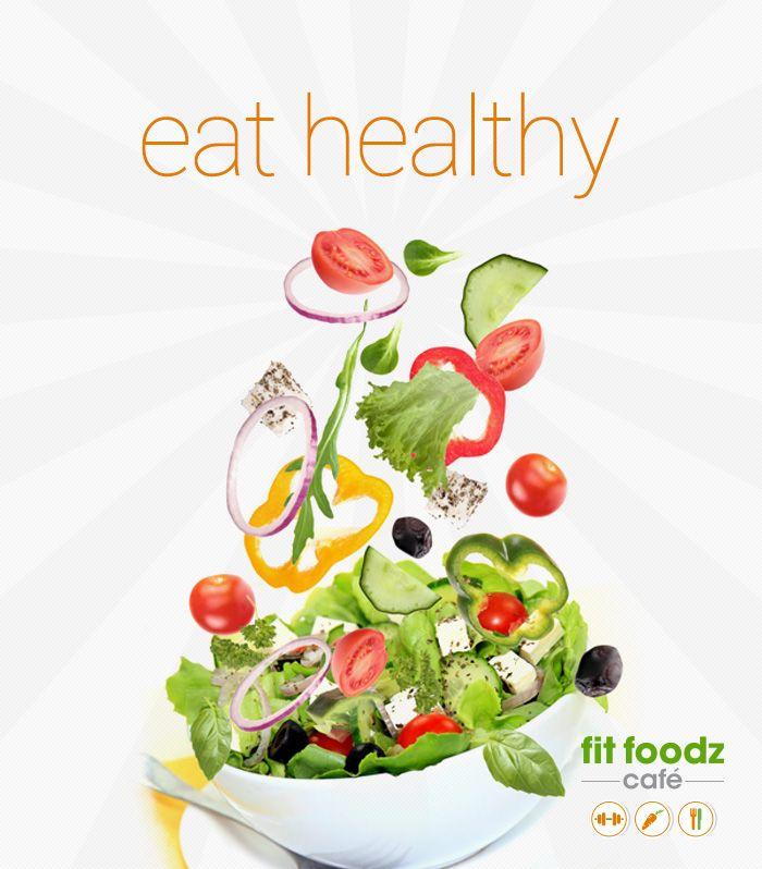 eat healthy salad bowl pic