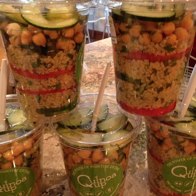 quinoa cups